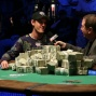 ESPN's Norm Chad interviews Allen Cunningham after his fifth bracelet