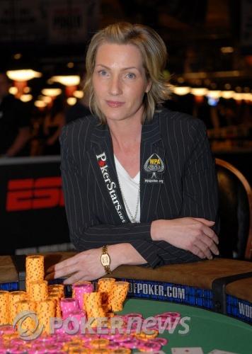 Katja Thater, Winner WSOP $1500 Razz Event #29
