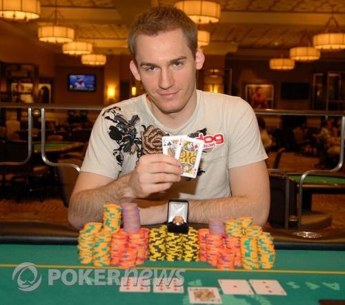 Justin Bonomo, 2009 WSOP Circuit Main Even Champion Caesars Palace Las Vegas