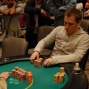 Justin Bonomo loses most of his chips to Mizrachi's full house