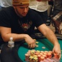 Michael Mizrachi back in control with most of the chips