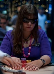 Annette - possibly our overnight chip leader