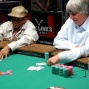 Freddy Ellis and Eric Drache play heads-up