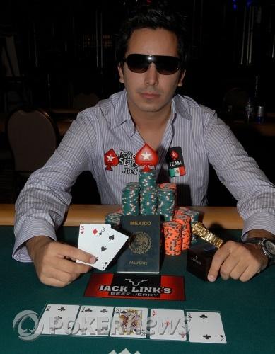 Angel Guillen Winner Event 32 - $2,000 No Limit Hold'em