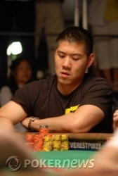 Chang dragging pots in heads-up play