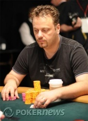 Pezzin - not chip leader any more