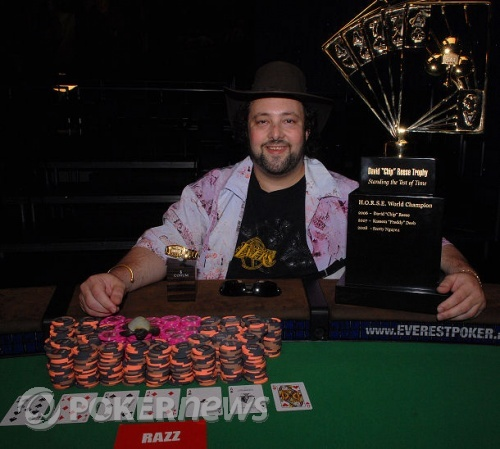 David Bach winner Event 49 - $50,000 World Championship H.O.R.S.E.