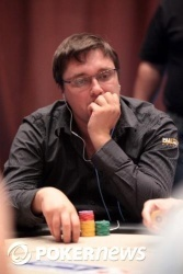 Alexander Rykov was among the Day 1b chip leaders as play concluded
