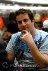 Van Marcus pondering the rules of tournament poker...