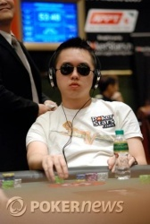 Phil Lau during day one action