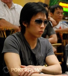 Chip leader Kyle Cheong