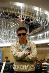 Daoxing Chen is the final table chip leader.