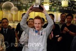 Dermot Blain - 2009 APPT Macau Champion