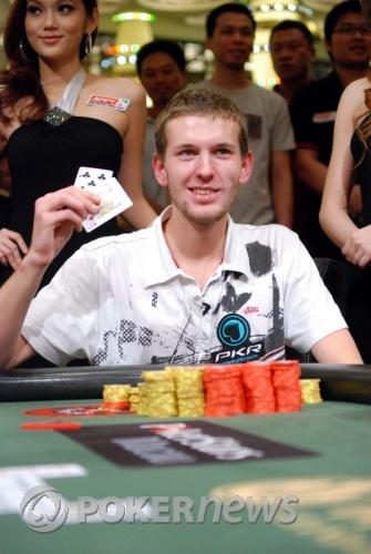 APPT Macau High Roller Champ Vladimir Geshkenbein