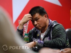 Johnny Chan eliminated in 2nd place