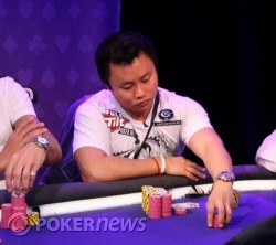 Liu-ses out on final table