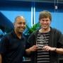 SKYCITY's Executive Manager Table Games Ejaaz Dean and Simon Watt