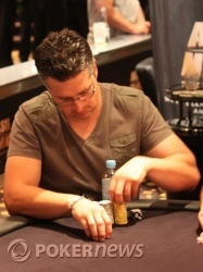 Day 1B Chip Leader Jim Mastorakos