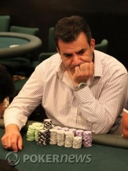 Xen Xenofontos (pictured) is the man to catch (186,300 in chips)