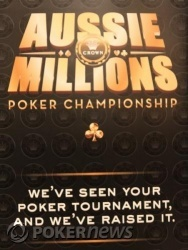 Welcome to the Crown Aussie Millions $5,300 Australian Heads Up Championship!