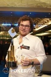 James Mitchell - PaddyPowerPoker.com Irish Poker Open Champion