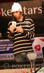 Mercier's winner photo from 2008 EPT San Remo
