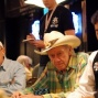 PokerNews field reporter Neil Fray and Amarillo Slim