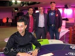 Le champion Thierry Senterre (à droite)