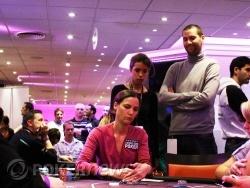 Clémentine Hugodot et ses coachs