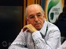 Michel Dhrey en pleine concentration