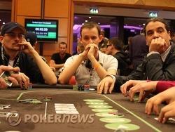 Un tournoi à oublier pour Phlippe (au centre)