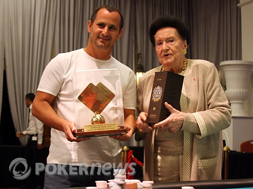 Hassan Fares, champion Marrakech Poker Open