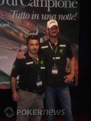 Domenico Tinnirello e Alessio Masini