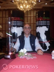 Ferdinando Caroè è il campione di questa quarta tappa del Campionato Italiano 2008
