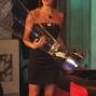 Missi Italia '05 Edelfa Chiara Masciotta con la coppa del vincitore