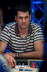Dragan Galic rimane il chip leader anche alla fine del Day 4
