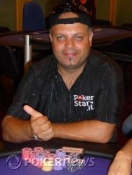 """Giuseppe """"Misonoilluso"""" Pipino - Chip Leader fine day 1a"""