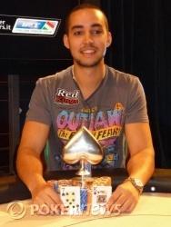 Il vincitore Ramzi Jelassi
