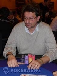 Giorgio Fenino - Chip Leader fine day 1a