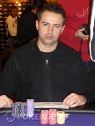 Valent Babic - Chip Leader day 1a