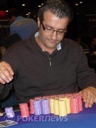 Gianni Luca Calanni Billa - Chip leader Day 2