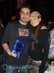 Gianluca Trebbi - Runner Up - Insieme alla sua fidanzata Elena Ichim