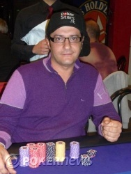 Gianni Luca Calanni Billa - Chip leader Day 1a