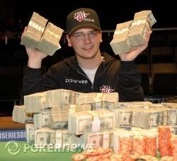 Steve Billirakis vinder første event