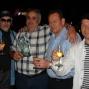 Mickey Finn, Asiz, Noel Geans en Frank List na de prijsuitreiking