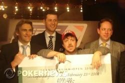 Winnaar PokerStars EPT4 Kopenhagen, Timothy Vance