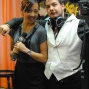 Kristy Arnett & Cameraman Alexander Bradley