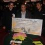 Kicik wint het 100 Euro Rebuy toernooi.