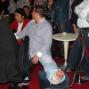 Chin en Erik, met gebroken been