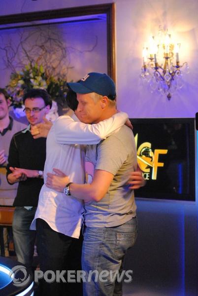 Congratulatory Embrace